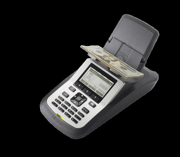 Машина за броене на монети и банкноти Tellermate T-iX