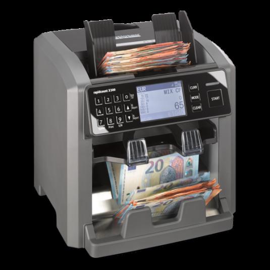 Банкнотоброячна машина Ratiotec Rapidcount X 500