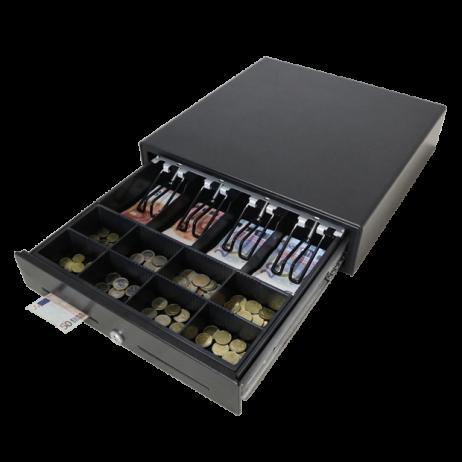 Касово чекмедже / сейф за пари с предно отваряне