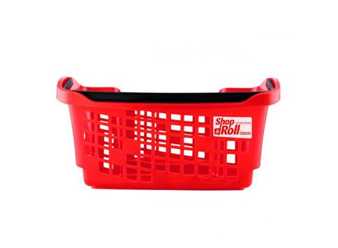 Кошница за пазаруване червена Araven 20L