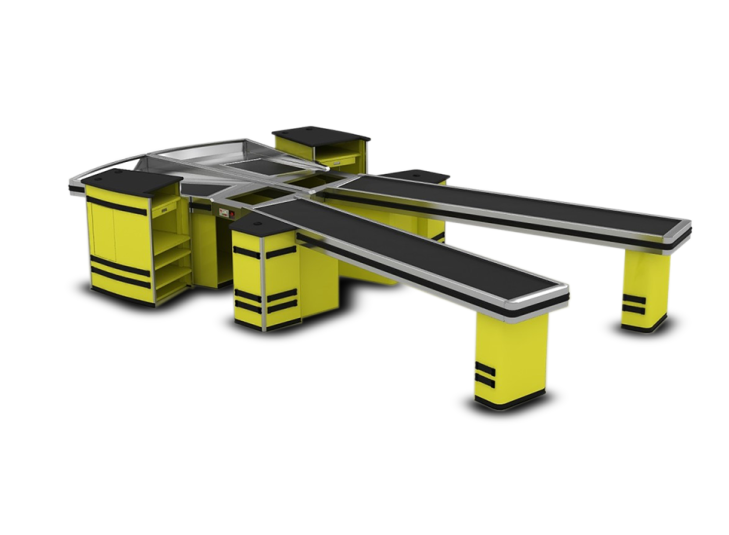 Касов модул за складове на едро с транспортна лента Diamond XL CASH&CARRY DISCOUNTER