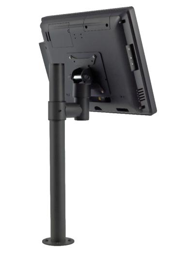 Стойка E-POLE за монитор VESA 75 / 100 мм с единично L рамо