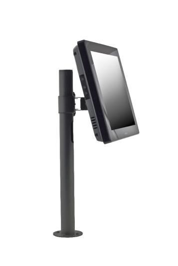 Стойка E-POLE за монитор VESA 75x75 мм и клиентска индикация