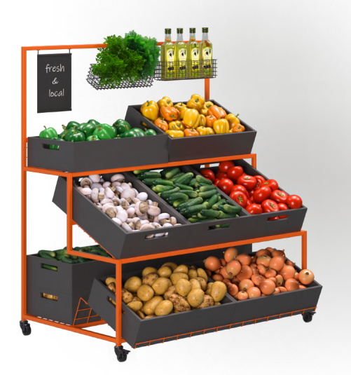 Стелаж за плодове и зеленчуци Greora Stairs ME