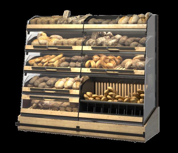 Стелаж за хляб, хлебни изделия и печива Select Inc ME