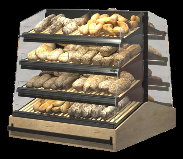 Стелаж за хляб, хлебни изделия и печива Gondola Select Inc ME