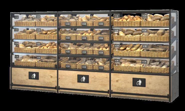 Стелаж за хляб, хлебни изделия и печива Select Vertical ME