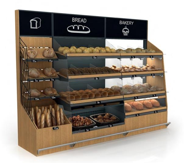 Стелаж за хляб, хлебни изделия и печива Select Advance ME