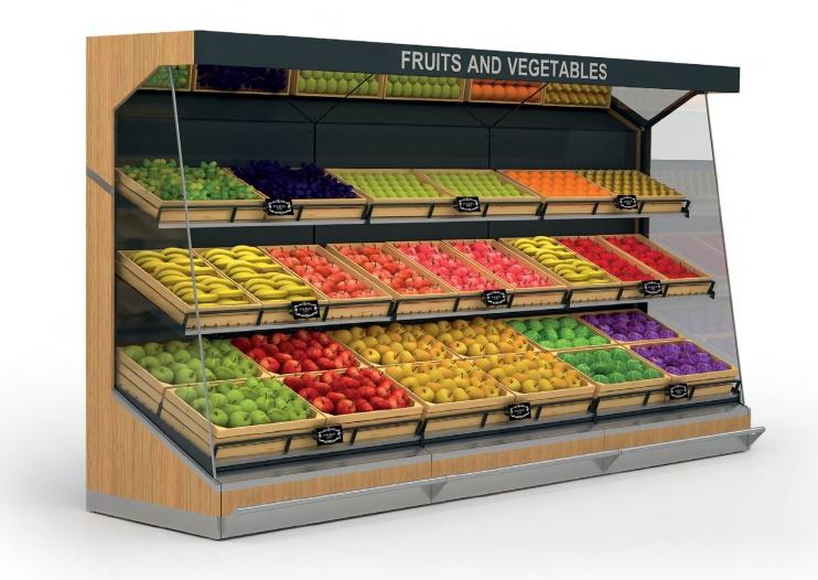 Стелаж за плодове и зеленчуци Advance GK