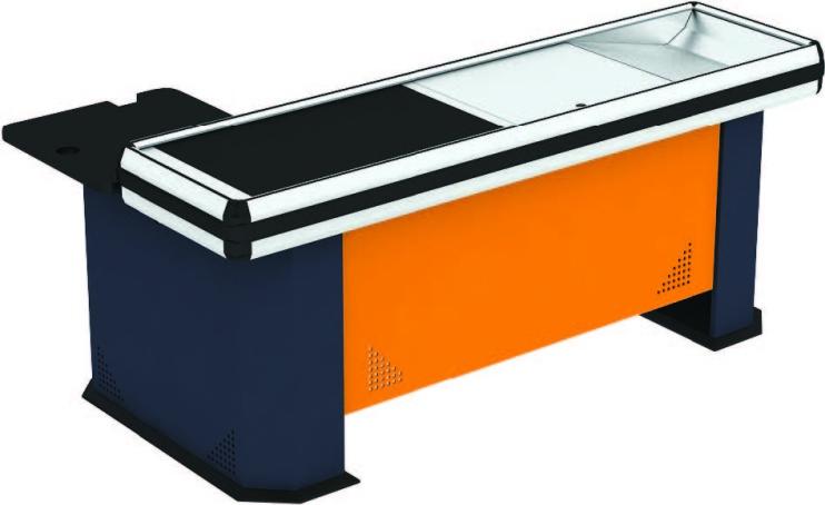 Касов модул с транспортна лента с единичен кош COOL GK