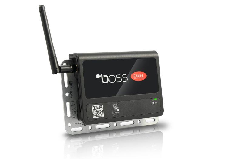 Мониторингова система за супермаркети, магазини и хладилни стопанства Carel boss & boss mini