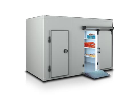 Хладилна камера с плъзгаща врата