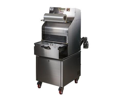 Полуавтоматична опаковачна машина за тарелки J Pack TSS 125-BG Semi-automatic