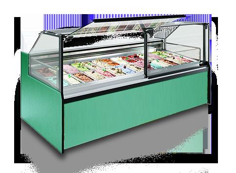 Специализирани витрини за сладолед