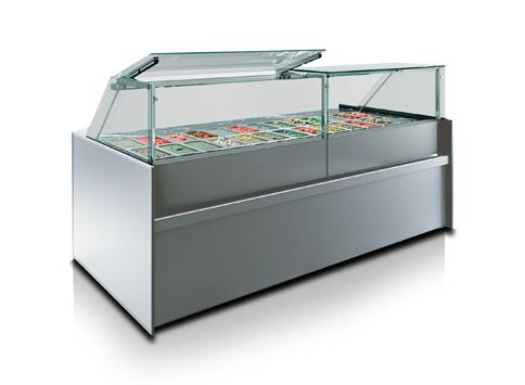 Специализирани витрини за салати и туршия