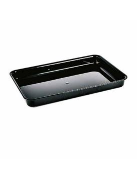Съд за щандова хладилна витрина - черен А5 (440x290x85 H mm)