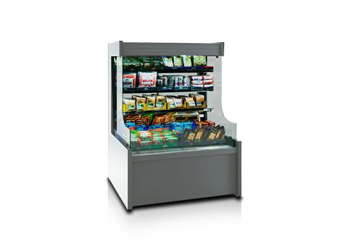 Специализирани витрини за продажба на пакетирани храни