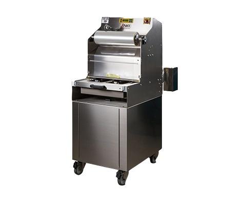 Полуавтоматична опаковачна машина за тарелки J Pack TSS125-SKIN