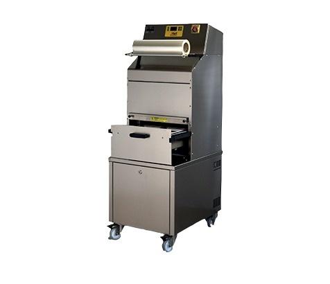 Полуавтоматична опаковачна машина за тарелки J Pack TSS126-OVERSKIN