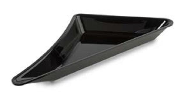 Съд за щандова хладилна витрина - триъгълник/десен 300*530*50