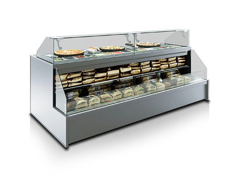 Специализирани витрини за суши и пица