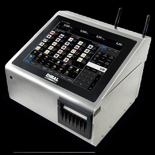 Етикираща система PC базирана / Баркод принтер за етикиране с връзка с платформена везна Dibal CL-3