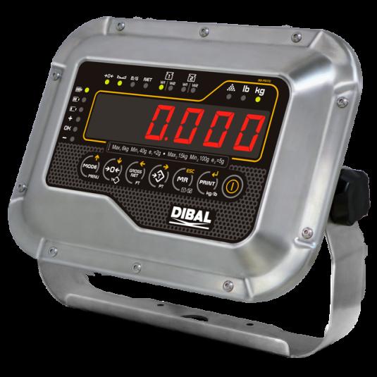 Измервателни теглови индикатори Dibal