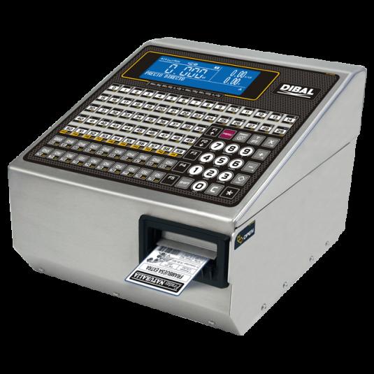 Етикираща система PC базирана / Баркод принтер за етикиране с връзка с платформена везна Dibal LP-545