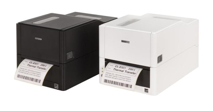Етикетен баркод принтер CITIZEN CL-E321 200 dpi