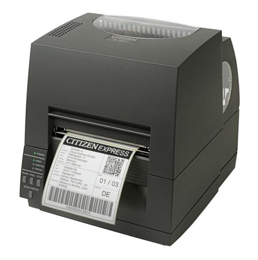 Етикетен баркод Принтер CITIZEN CL-S631 300 dpi