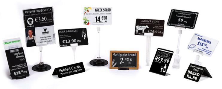 Карти PVC за Картов принтер за ценови етикети EDIKIO Access